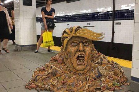 New York Metrosu ve Efsane Çizimler