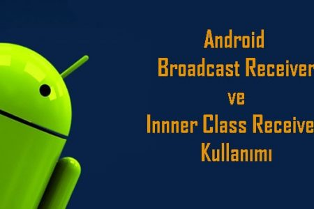 Android Broadcast Receiver ve Innner Class Receiver Kullanımı Örnek