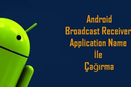 Broadcast Receiver Application Name İle Çağırma